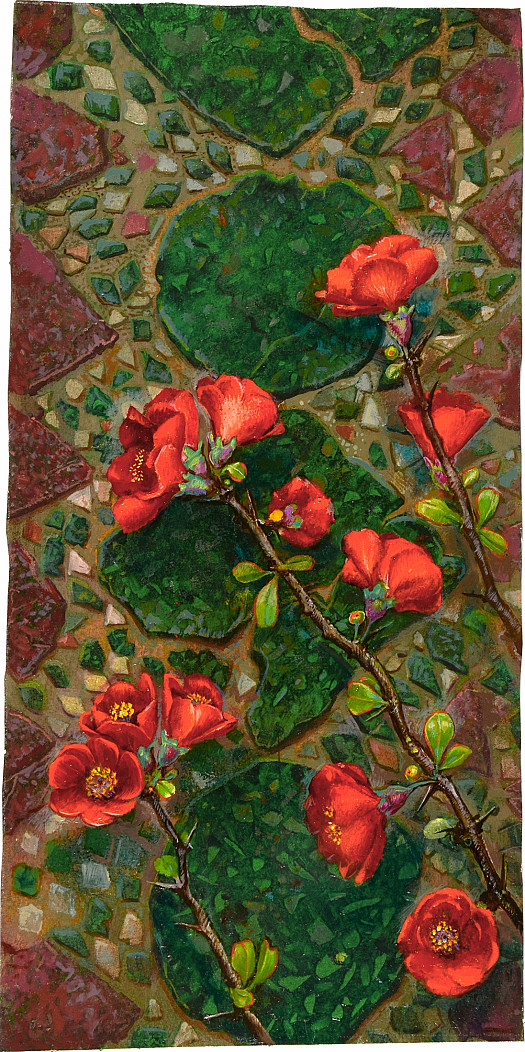 Japonica On Cosmatesque