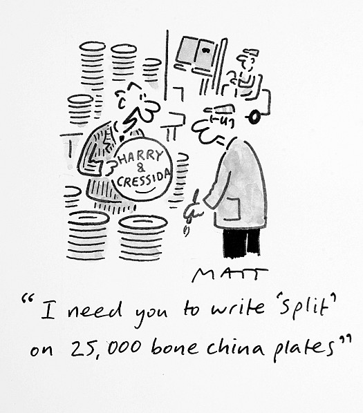I Need You to Write 'Split' On 25,000 Bone China Plates