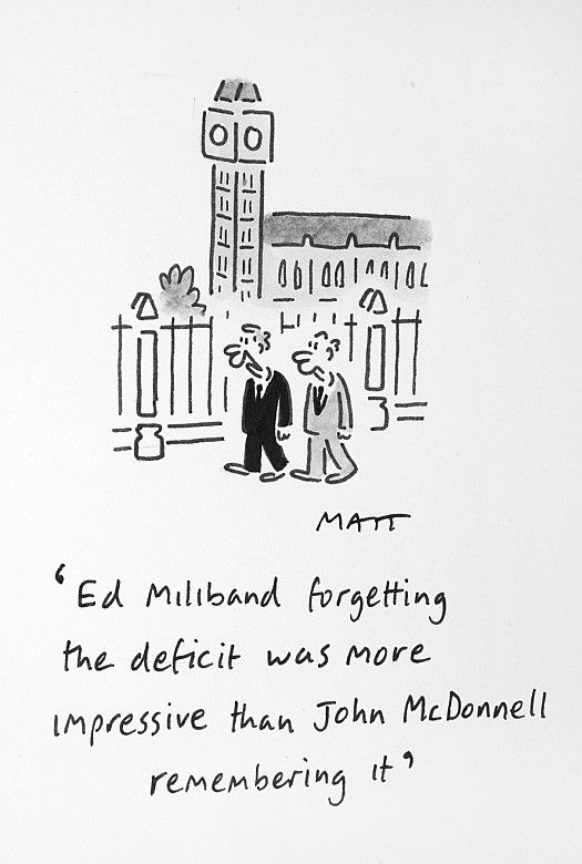 Ed Miliband Forgetting the Deficit Was More Impressive than John McdonnellRemembering It