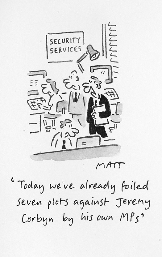 Today We've Already Foiled Seven Plots Against Jeremy Corbyn by His Own Mps