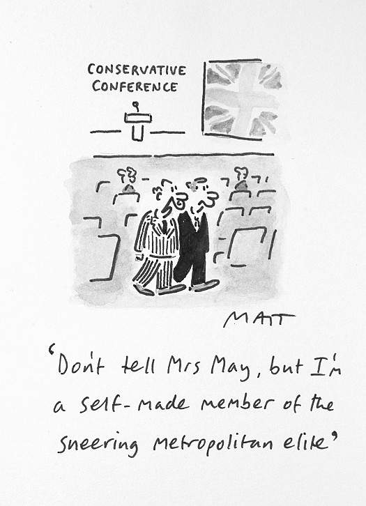 Don't Tell Mrs May, but I'm a Self-Made Member of TheSneering Metropolitan Elite