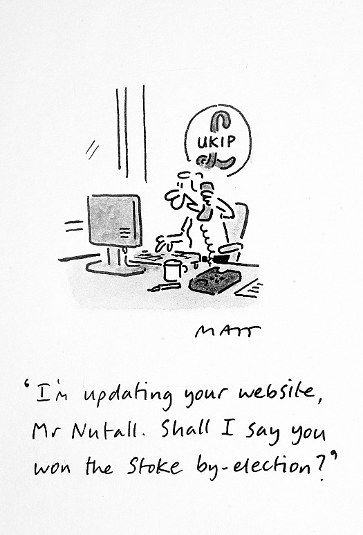 I'm Updating Your Website, Mr Nutall. Shall I Say You Won