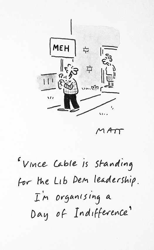 Vince Cable Is Standing For the Lib Dem Leadership. I'm Organising 