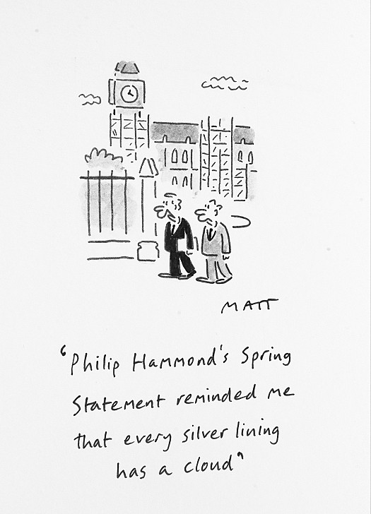 Phillip Hammond's Spring Statement Reminded Me That Every Silver LiningHas a Cloud