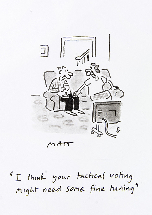 I think you tactical voting might need some fine tuning