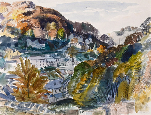 Matlock, Derbyshire, Autumn