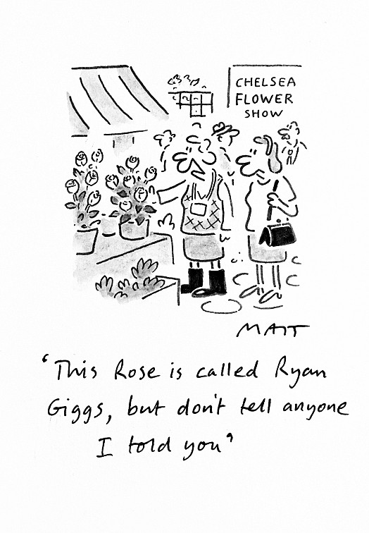 This Rose Is Called Ryan Giggs, but Don't Tell Anyone I Told You