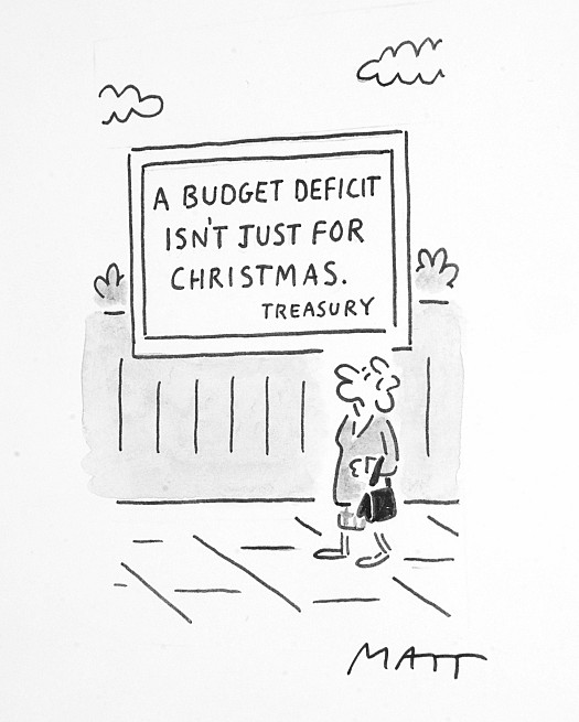 A Budget Deficit Isn't just For Christmas