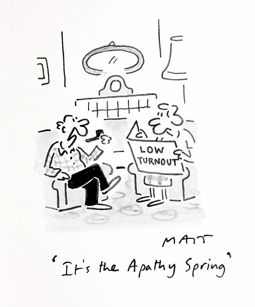 It's the Apathy Spring