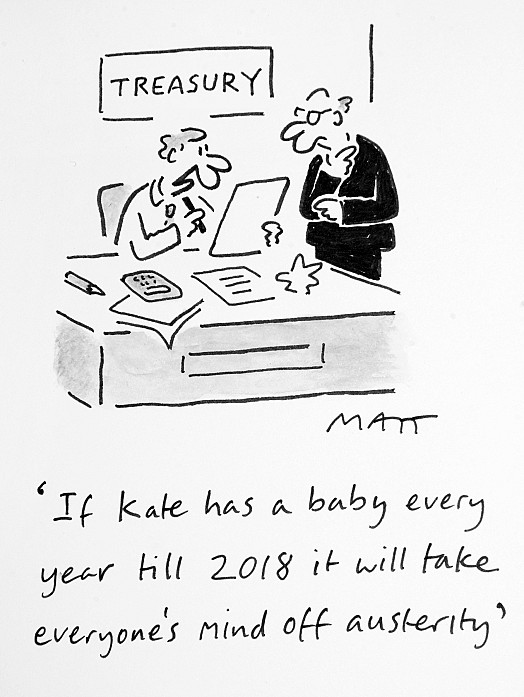 If Kate Has a Baby Every Year Till 2018 It Will Take Everyone's Mind Off Austerity