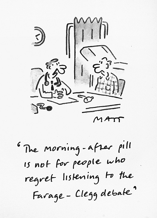 The Morning-After Pill Is Not For People Who Regret Listening to the Farage-Clegg Debate