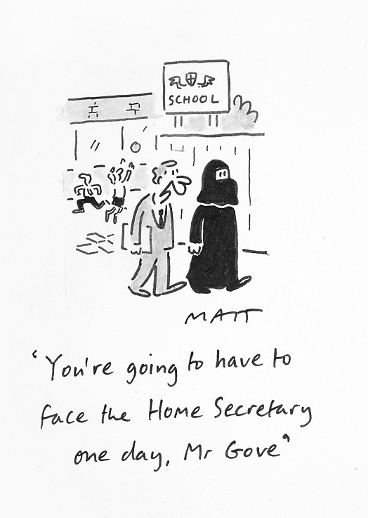 You're Going to Have to Face the Home Secretary One Day, Mr Gove