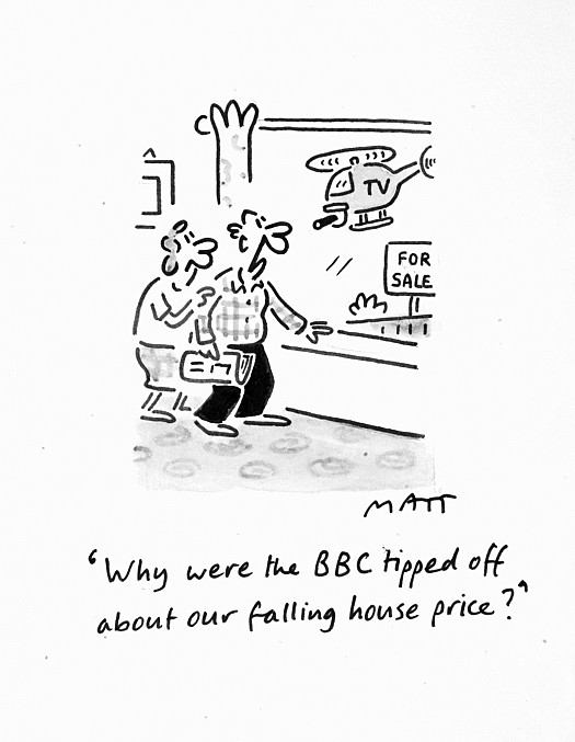 Why Were the Bbc Tipped Off About Our Falling House Price?