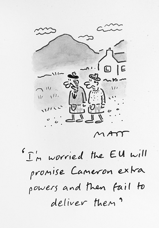 I'm Worried the Eu Will Promise Cameron Extra Powers and then Fail to Deliver Them