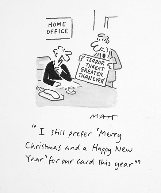 I Still Prefer 'Merry Christmas and a Happy New Year' For Our Card this Year