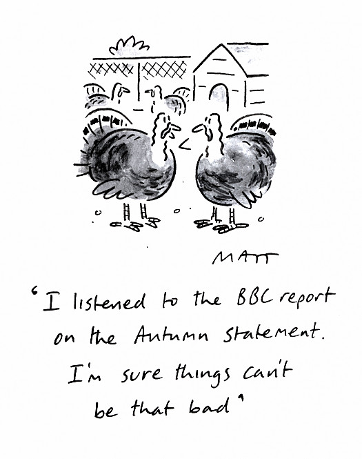 I Listened to the Bbc Report On the Autumn Statement. I'm Sure Things Can't Be That Bad