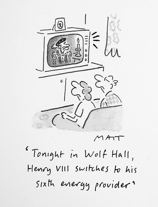 Tonight In Wolf Hall, Henry Viii Switches to His Sixth Energy Provider