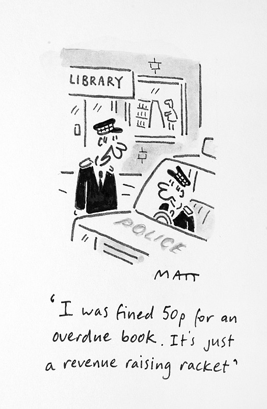 I Was Fined 50p For an Overdue Book. It's just a Revenue Raising Racket