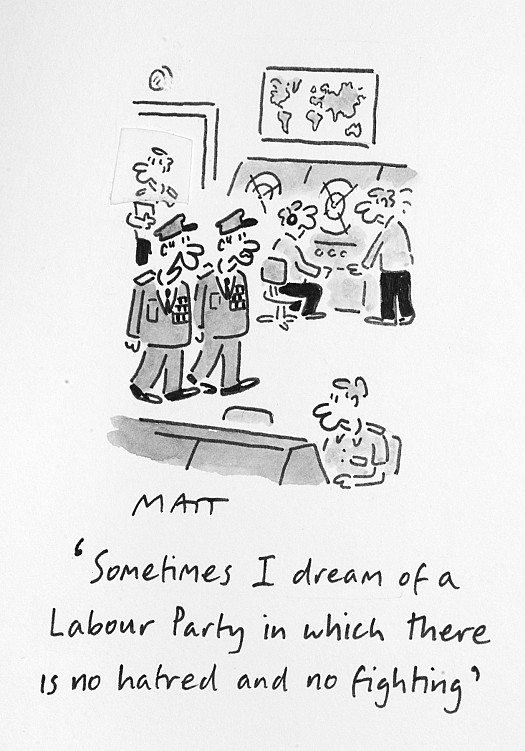 Sometimes I Dream of a Labour Party In Which There Is No Hatred and No Fighting