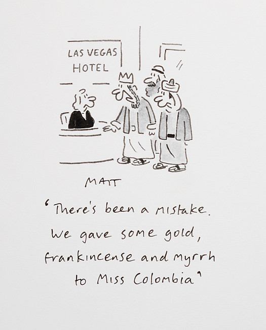 There's Been a Mistake. We Gave Some Gold, Frankincense and Myrrh to Miss Colombia