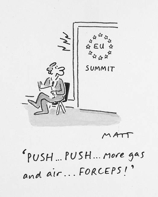 Push...Push...More Gas and Air...Forceps!