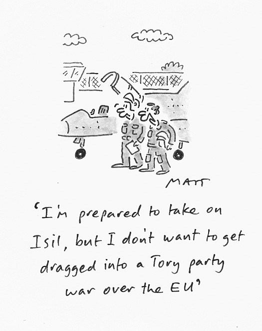 I'm Prepared to Take On Isil, but Don't Want to Get Dragged Into a Tory Party War over the Eu