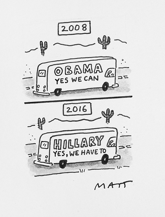 Obama Yes We CanHillary Yes, We Have To