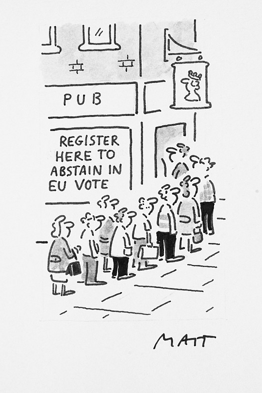 Register Here to Abstain In the Eu Vote