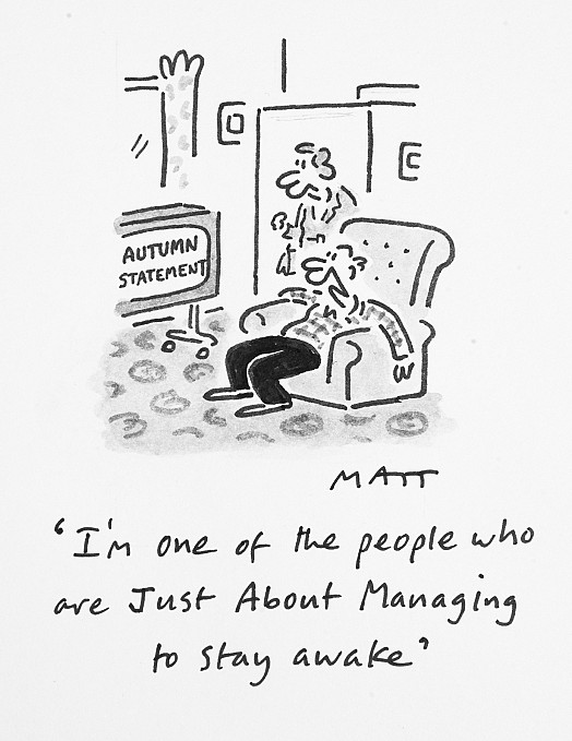 I'm One of the People Who Are just About Managing to Stay Awake