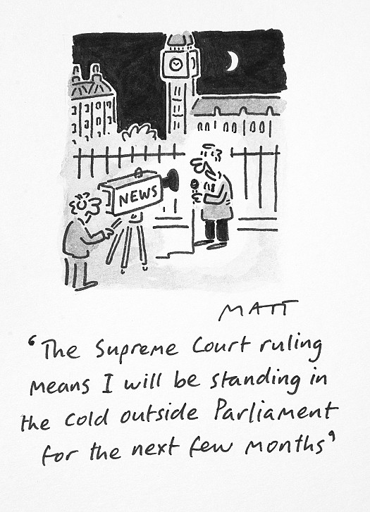 The Supreme Court Ruling Means I Will Be Standing In the Cold OutsideParliament For the Next Few Months