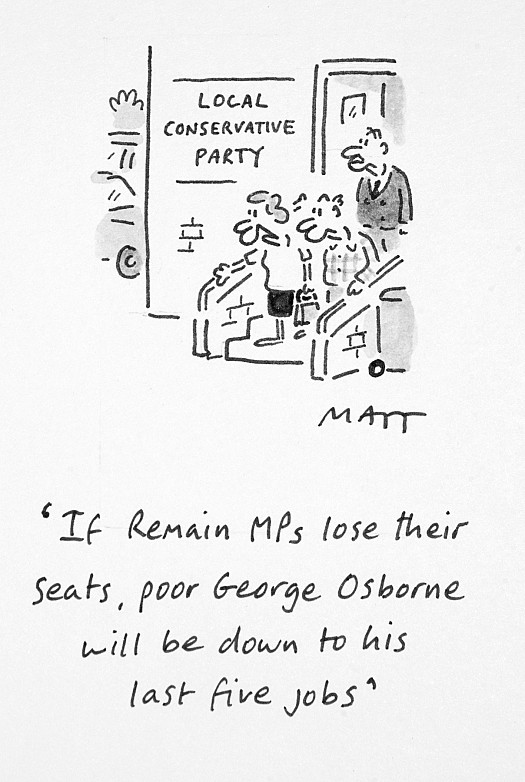 If Remain Mps Lose Their Seats, Poor George Osborne Will Be Down to HisLast Five Jobs