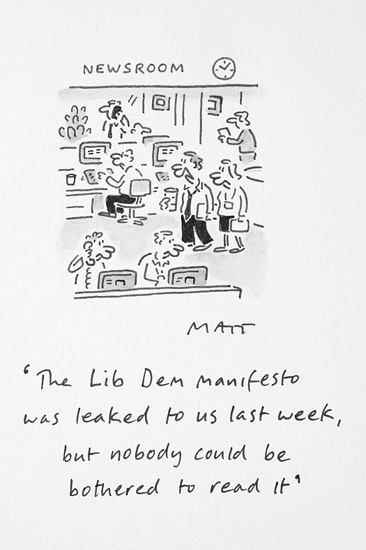 The Lib Dem Manifesto Was Leaked to Us Last Week, but Nobody CouldBe Bothered to Read It