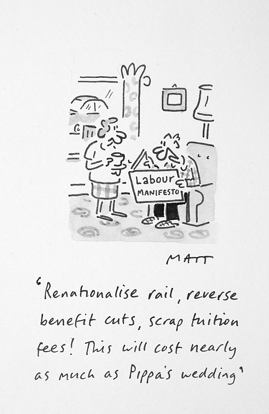 Renationalise Rail, Reverse Benefit Cuts, Scrap Tuition Fees! this Will CostNearly as Much as Pippa's Wedding