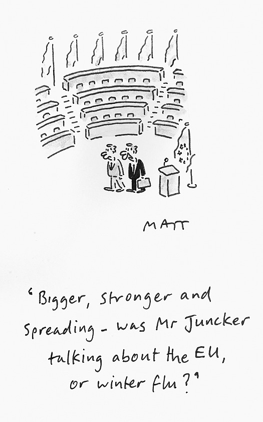 Bigger, Stronger and Spreading - Was Mr Juncker Talking About the Eu, or Winter Flu?