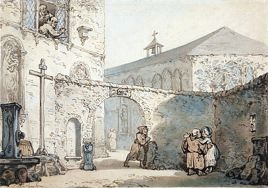 The Courtyard of a Monastery