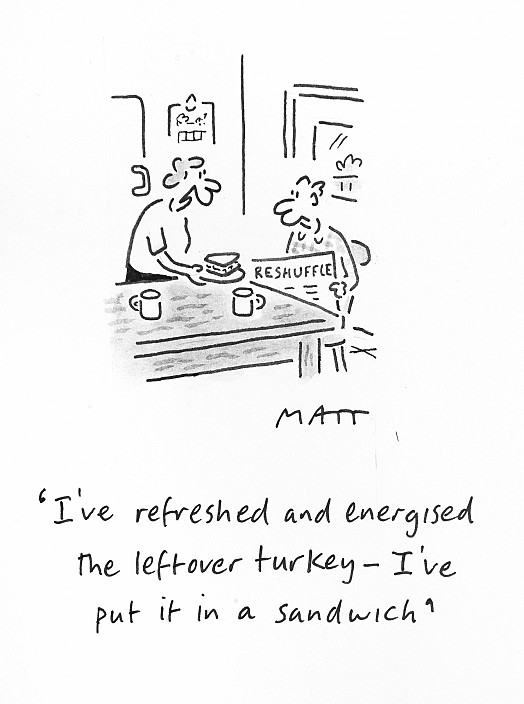 I've Refreshed and Energised the Leftover Turkey - I've Put It In a Sandwich