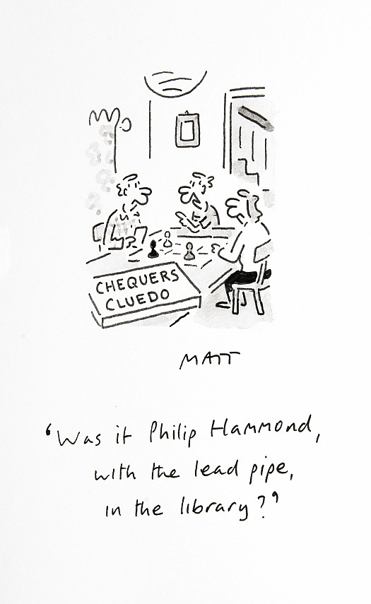 Was It Philip Hammond, with the Lead Pipe, In the Library?