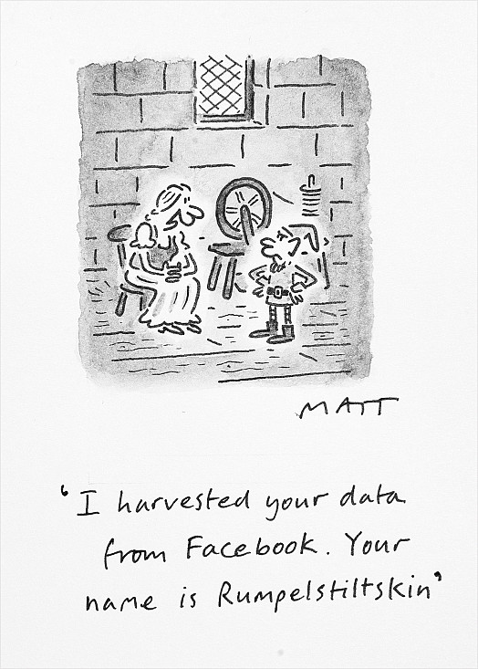 I Harvested Your Data from Facebook. Your Name Is Rumpelstiltskin