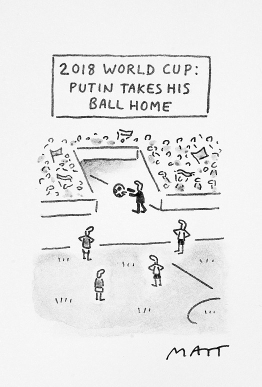 2018 World Cup: Putin Takes His Ball Home