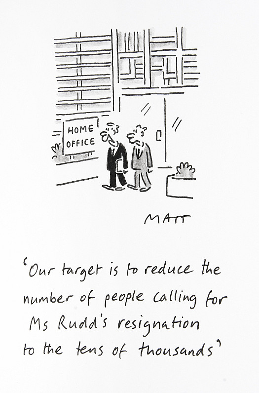 Our Target Is to Reduce the Number of People Calling For Ms Rudd's