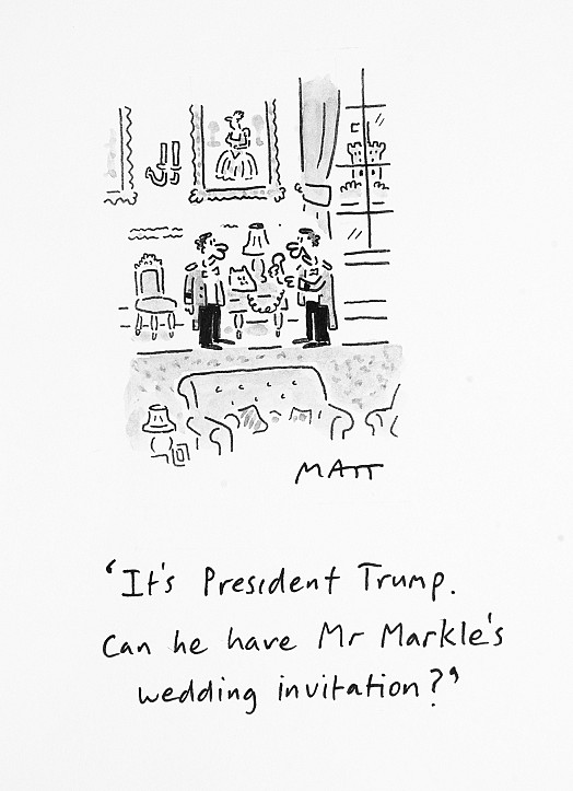It's President Trump. Can He Have Mr Markle's Wedding Invitation?
