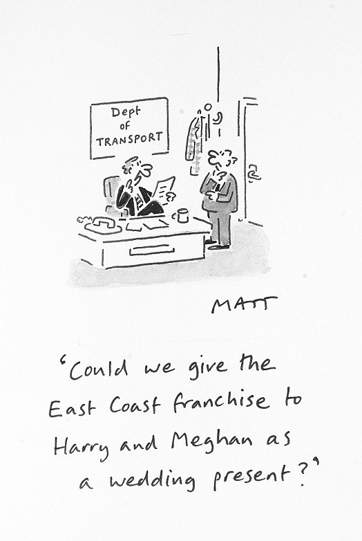 Could We Give the East Coast Franchise to Harry and Meghan as a Wedding Present?