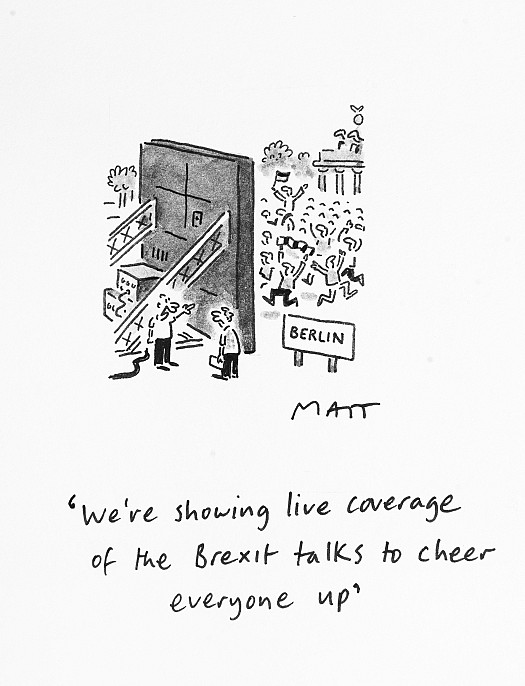 We're Showing Live Coverage of the Brexit Talks to Cheer Everyone Up