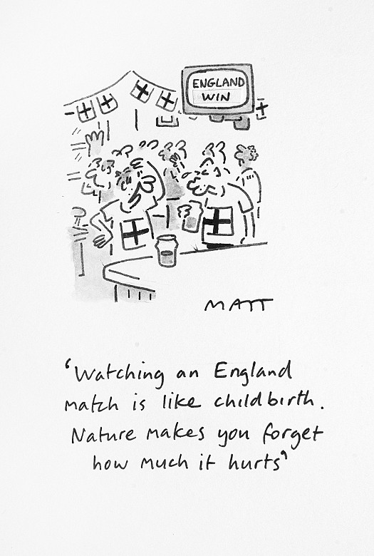 Watching an England Match Is Like Childbirth. Nature Makes You ForgetHow Much It Hurts