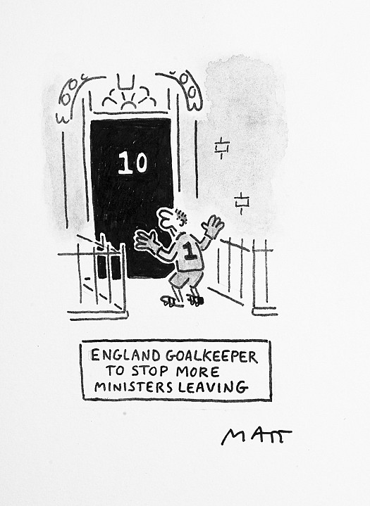 England Goalkeeper to Stop More Ministers Leaving