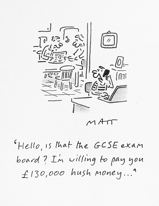 Hello, Is That the GCSE Exam Board?