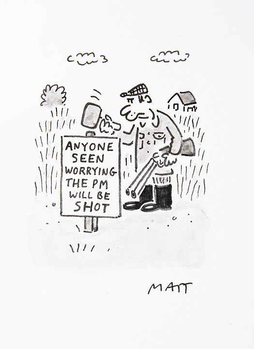 Anyone Seen Worrying the Pm Will Be Shot