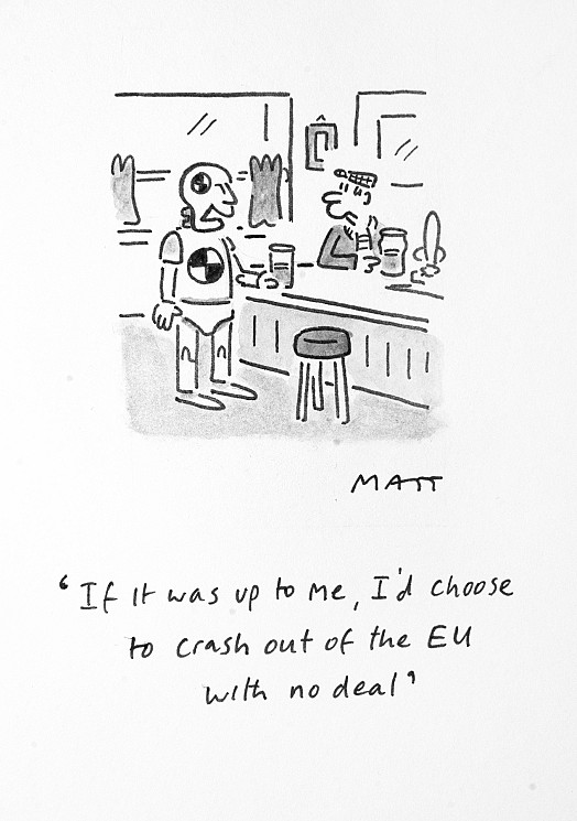 If It Was Up to Me, I'd Choose to Crash Out of the Eu with No Deal
