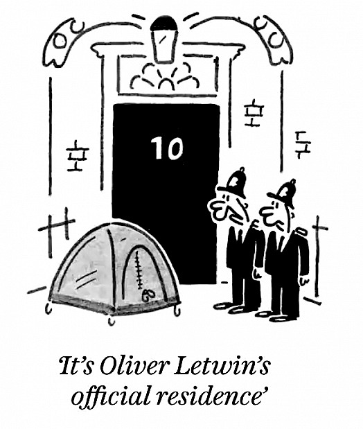 It's Oliver Letwin's official residence