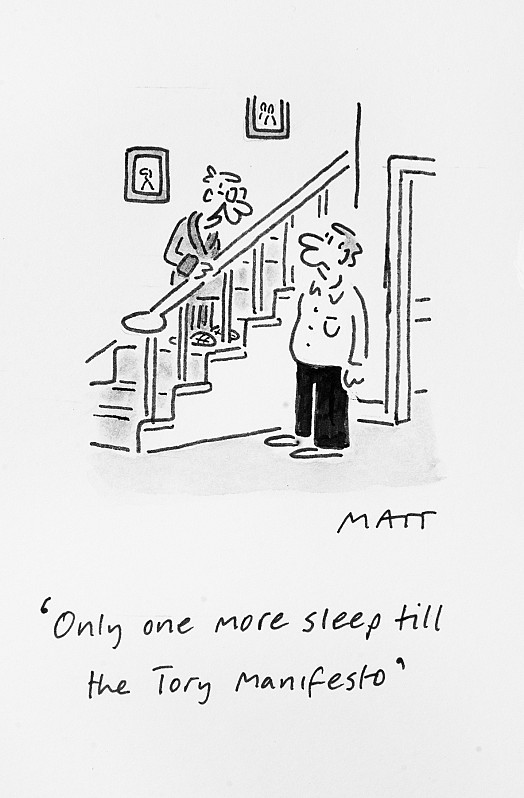 Only one more sleep till the Tory manifesto
